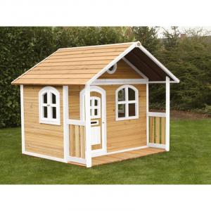 Casetta per Bambini in legno MILAN di AXI Brown/White