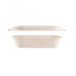 Combo vaschetta Brown 750ml ovale + coperchio