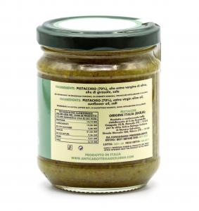Pesto di pistacchi siciliani 180 grammi