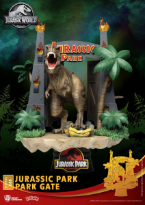 *PREORDER* Jurassic Park D-Stage: PARK GATE by Beast Kingdom