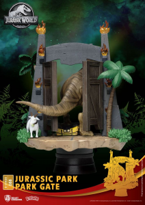 *PREORDER* Jurassic Park D-Stage: PARK GATE by Beast Kingdom