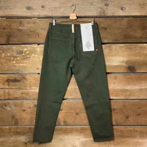 Jeans Amish Supplies Uomo Jeremiah Bull Verde Militare