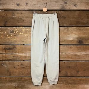 Pantalone American Vintage Jogger Ampio con Polsino Verde Pastello