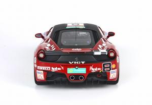 Ferrari 458 Challenge Monza 2012 Team Depoi Ltd Edition 100 Pcs 1/18 Bbr