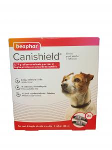 CANISHIELD S/M 48 cm (2 pezzi) – Collare antiparassitario per cani di taglia piccola e media