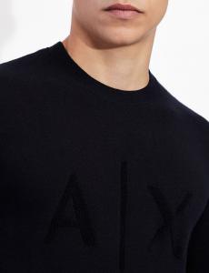 Maglione uomo ARMANI EXCHANGE girocollo con logo