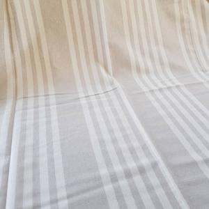 Telo Granfoulard  Quattro righe beige