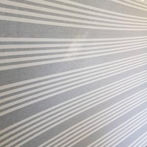 Telo Granfoulard  Quattro righe grigio