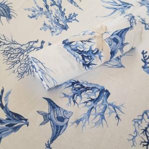 Telo Granfoulard  Coralli azzurri