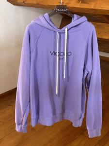 Felpa Vicolo Logo con cappuccio