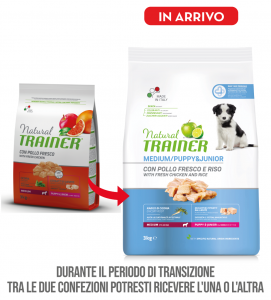Trainer Natural - Medium - Puppy&Junior - 3 kg