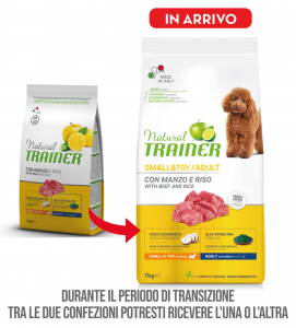 Trainer Natural - Small&Toy - Adult - 7 kg