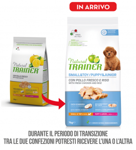 Trainer Natural - Small&Toy - Puppy&Junior - 7 kg