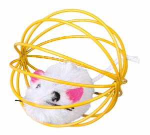 Trixie - Topolino con Palla - ø 6 cm