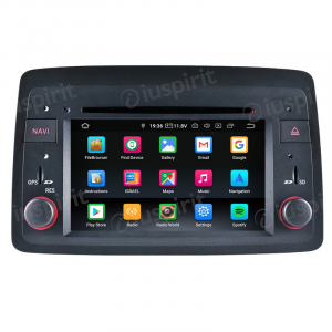 ANDROID 10 autoradio navigatore per Fiat Panda 2004-2012 GPS DVD WI-FI Bluetooth MirrorLink