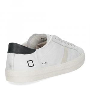 D.A.T.E. Hill low vintage calf white black-5