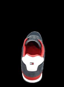 Scarpa Sneaker camoscio e tela   Tommy Hilfiger   Colore blu tommy hilfiger