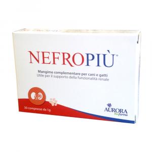 Nefropiù 30 compresse - mangime complementare per cani e gatti - Aurora Biofarma