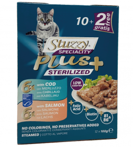 Stuzzy Cat - Speciality Plus - Sterilized - 100g x 12 buste