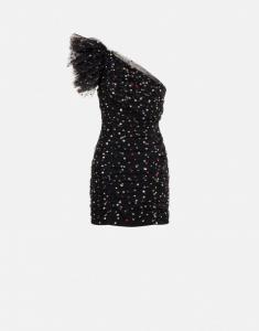 Minidress in tulle con pois philosophy di lorenzo serafini