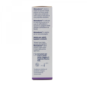 Rhinodoron - spray nasale all'aloe vera Weleda