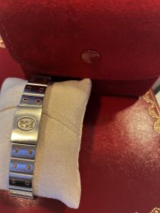 Orologio secondo polso Cartier Santos Lady