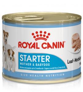 Royal Canin - Size Health Nutrition - Starter Mousse Mother & Babydog - 195g x 12 lattine