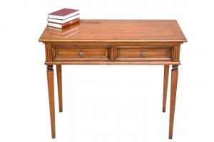 2 drawer inlaid desk