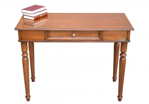 Classic desk in wood 1 drawer