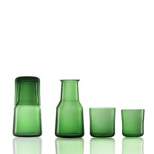 Set Trio X Green Laurel-Transaprent