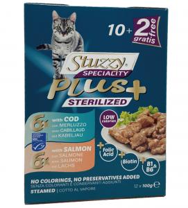 Stuzzy Cat - Speciality Plus - Sterilised - 100g x 12 buste