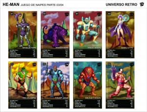 Cards: MASTERS OF THE UNIVERSE 30th Anniversary Cards by Universo Retrò