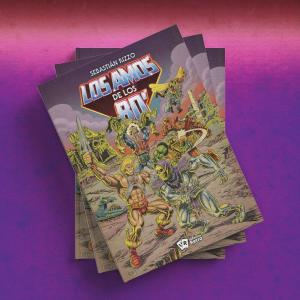Libro: LOS AMOS DE LOS 80´ Full Combo by Universo Retrò