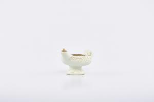 Lucerna porcellana bianca
