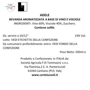 Adele - Vino di Visciole - 50cl