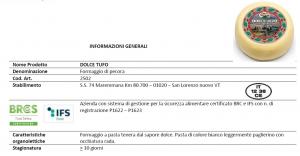 Pecorino fresco Dolce Tufo - 400gr