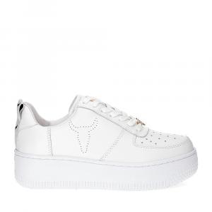 Windsor Smith Racerr white leather-2