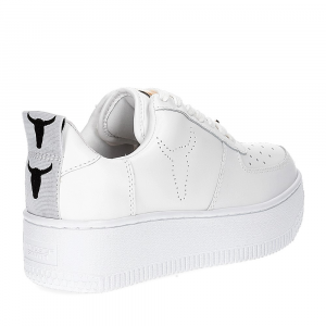 Windsor Smith Racerr white leather-5