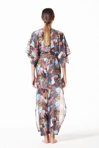 4Giveness Kimono Lungo Savage Fern.