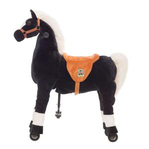 Cavallo Cavalcabile con ruote Tuono