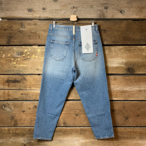 Jeans Amish Supplies Uomo Bernie Blu Chiaro