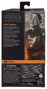 Star Wars Black Series Action Figure: Moff Gideon (The Mandalorian) by Hasbro