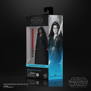Star Wars Black Series Action Figure: Rey (Dark Side Vision) (Episode IX) by Hasbro