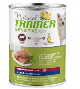 Trainer Natural Sensitive Plus - Medium/Maxi - 400g x 6 lattine