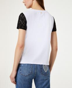 T Shirt con paillettes LIU JO