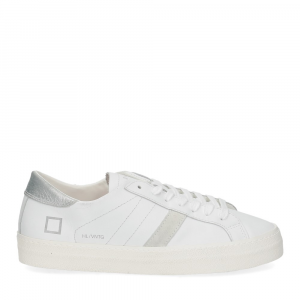 D.A.T.E. Hill Low vintage calf white silver-2