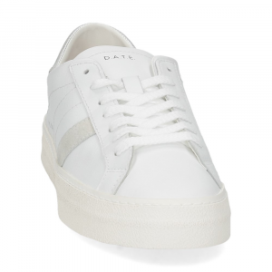 D.A.T.E. Hill Low vintage calf white silver-3
