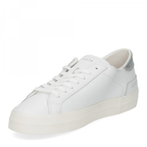 D.A.T.E. Hill Low vintage calf white silver-4