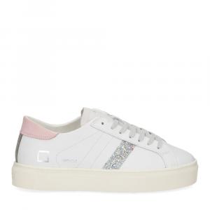 D.a.t.e. Vertigo calf white pink-2
