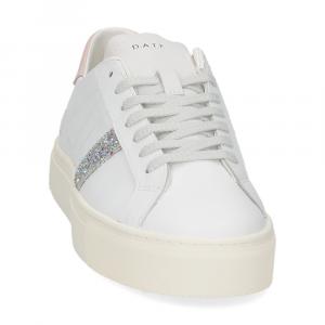 D.a.t.e. Vertigo calf white pink-3